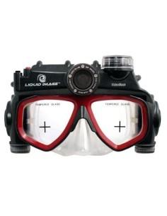 Mascara de buceo con cámara