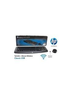 Teclado y ratón inalámbrico HP Classic
