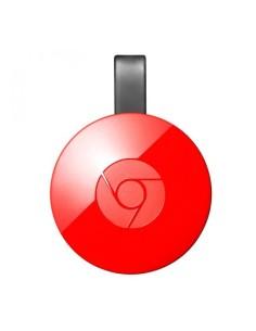 Google chromecast rojo